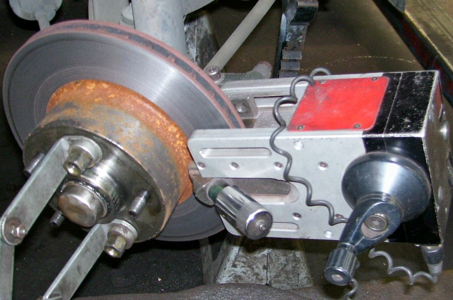 disc resurface machine