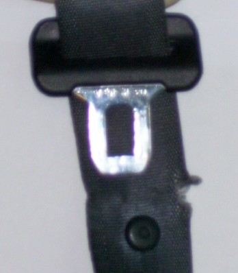 Auto Seatbelt damaged webbing