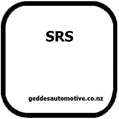 SRS Airbag Fault Light Symbol